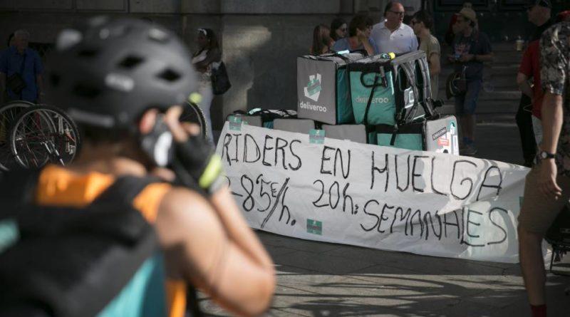 """Huelga en Deliveroo: ¿El fin de la panacea de la """"economía colaborativa""""?"""