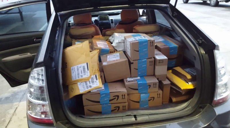 La competencia desleal de Amazon en la entrega de sus paquetes