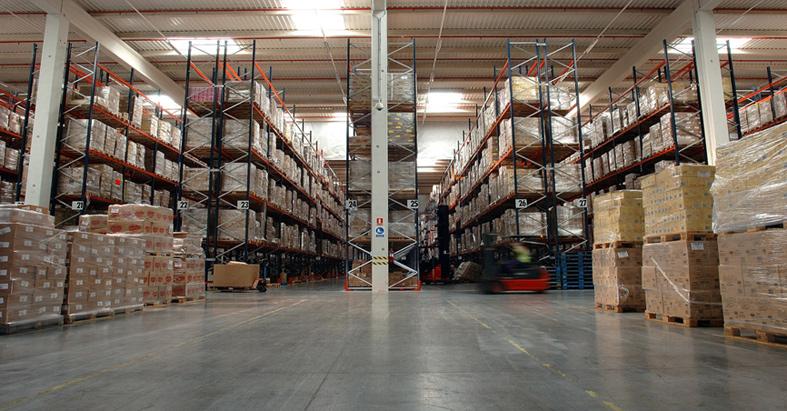Como diseñar las principales zonas de un almacén logístico