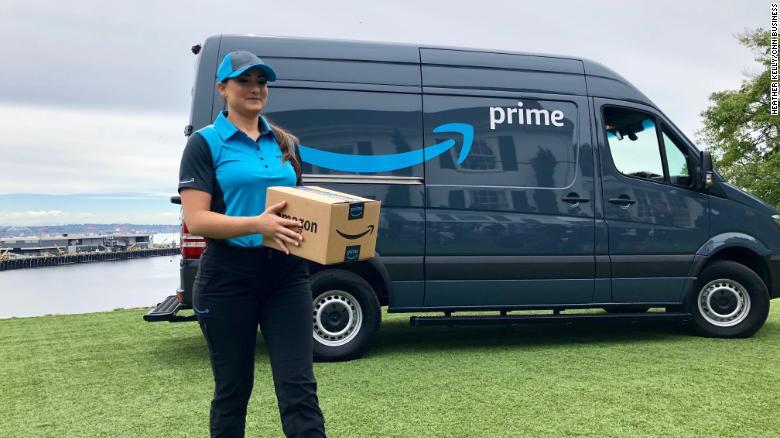 ¿Has visto alguna furgoneta de Amazon repartiendo en tu ciudad?