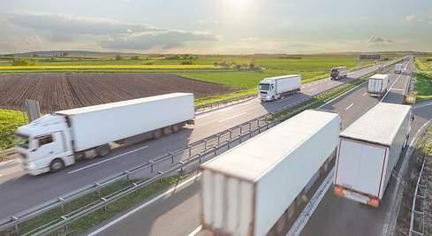 El transporte de mercancías por carretera va recuperando el pulso