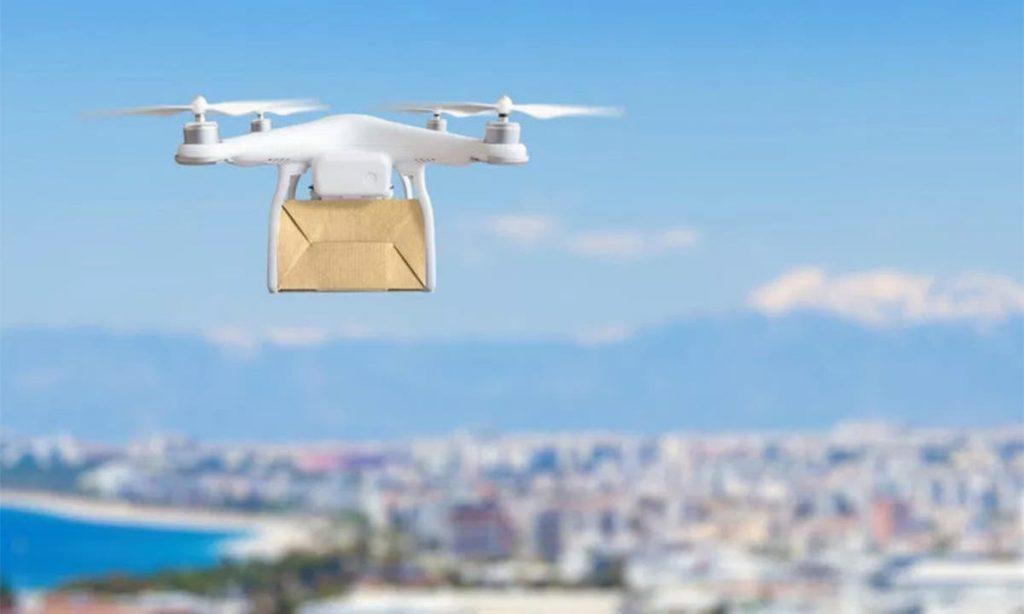 La fantasía de repartir paquetes con drones