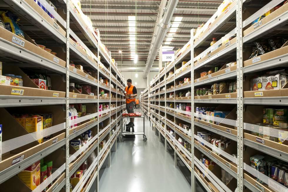 Amazon o como ser el rey gestionando un almacenamiento caótico
