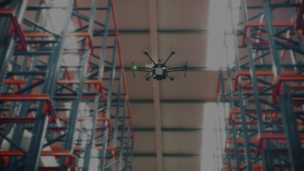 Transformación digital logística: Drones para gestionar el inventario de los almacenes
