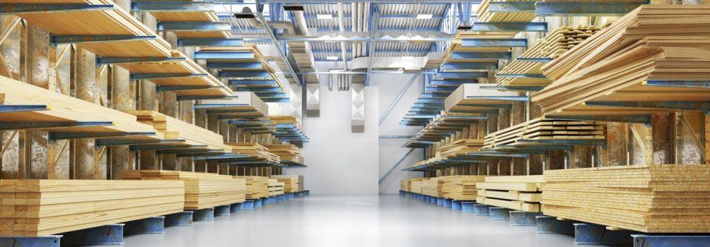 Cómo organizar cargas largas en un almacén