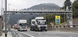 Todos los camiones que circulen por Gipuzkoa, a pasar por caja